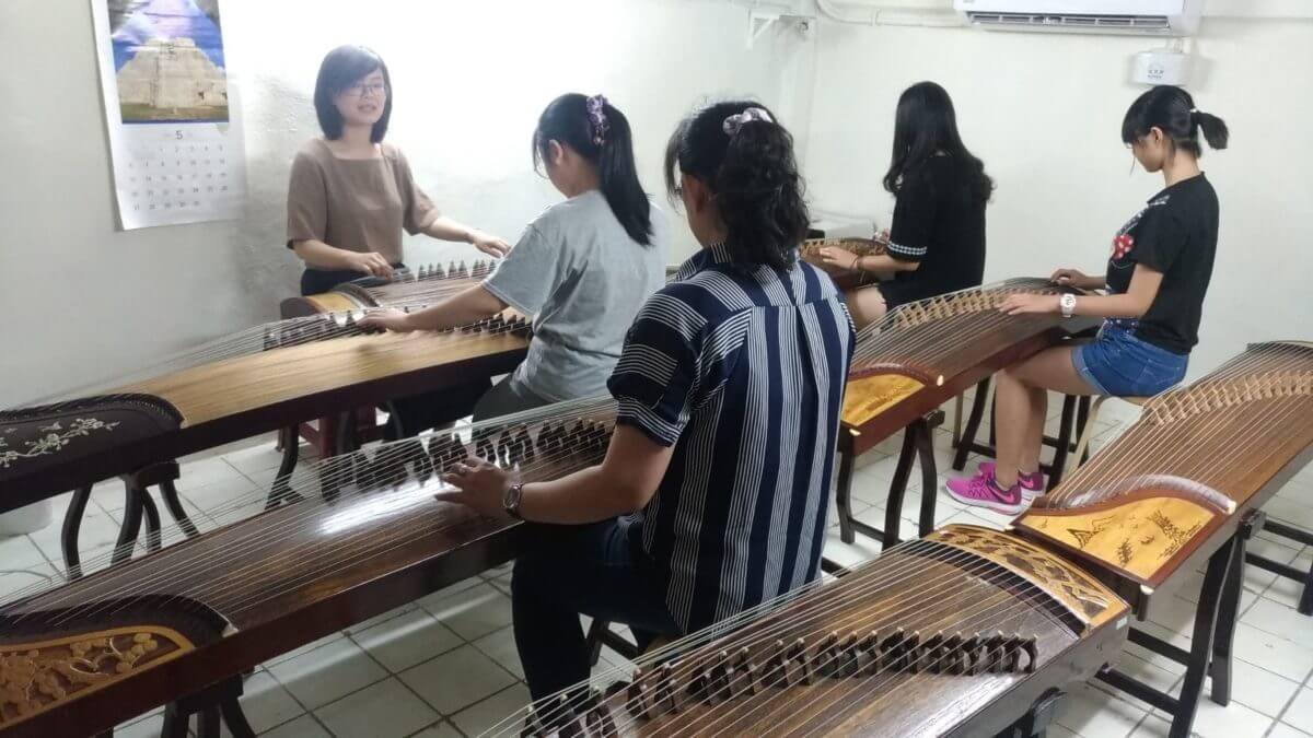 台北古箏入門班,初學古箏課程,古箏2-4人精緻古箏團體班